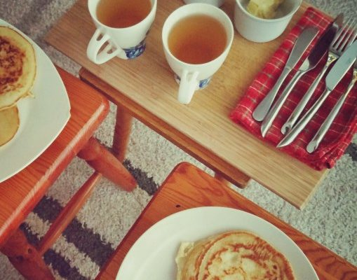 Śniadanie pancakes ;)