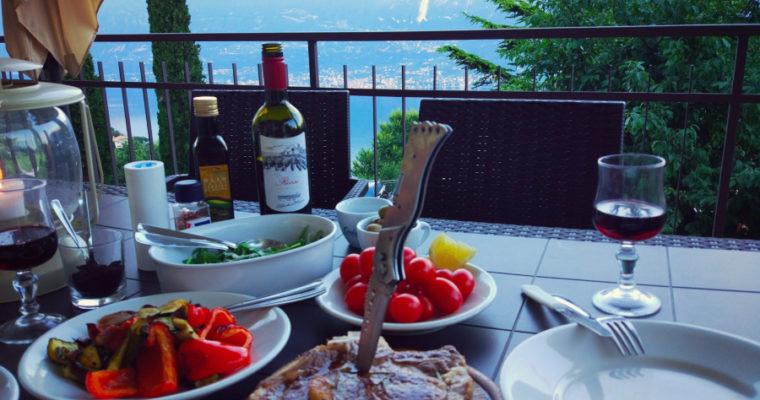 Wakacyjna kolacja