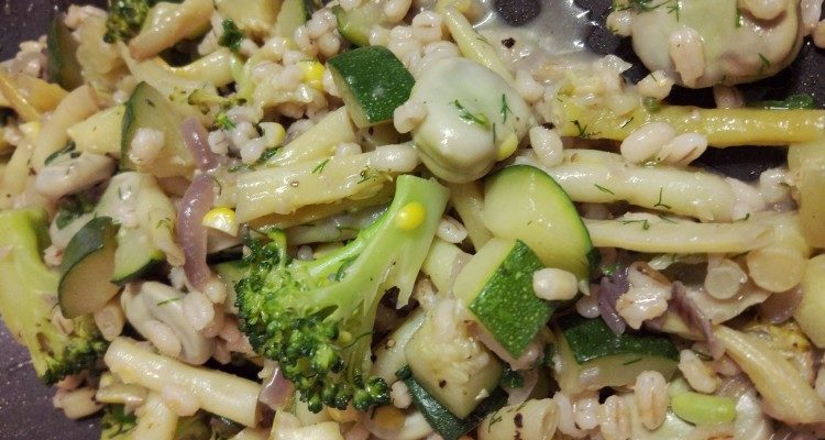 Kaszotto letnie warzywa