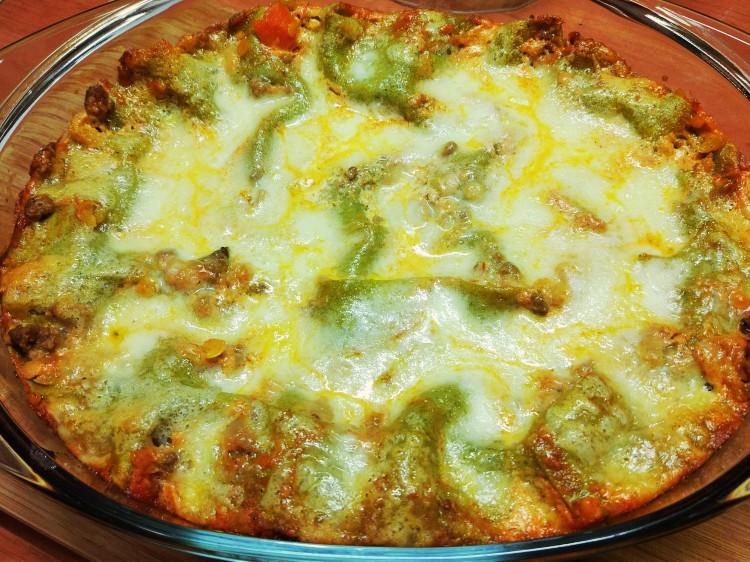 Lżejsza lasagne bolognese