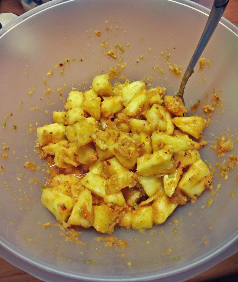 Kimchi z ananasa