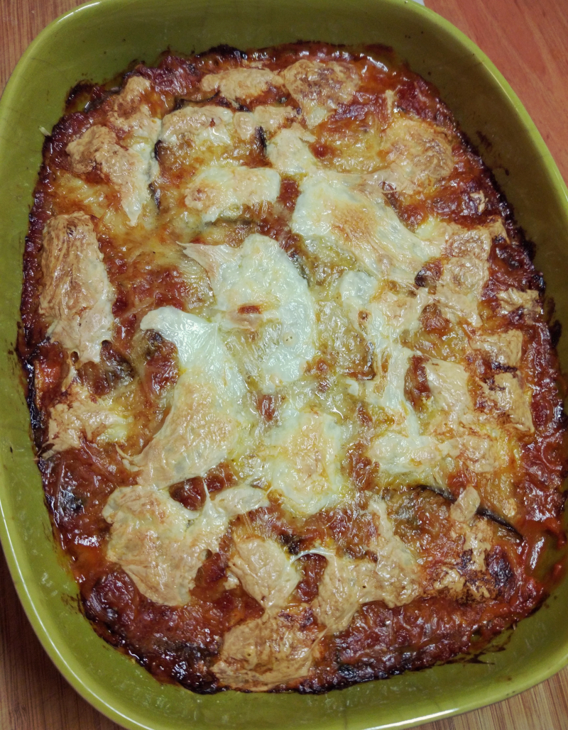 Parmigiana z bakłażanem