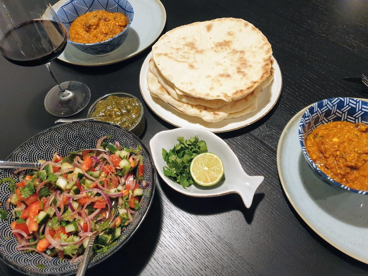Indyjskie curry Chicken Ceylon